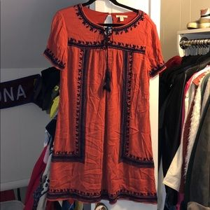 Boutique Embroidered Dress